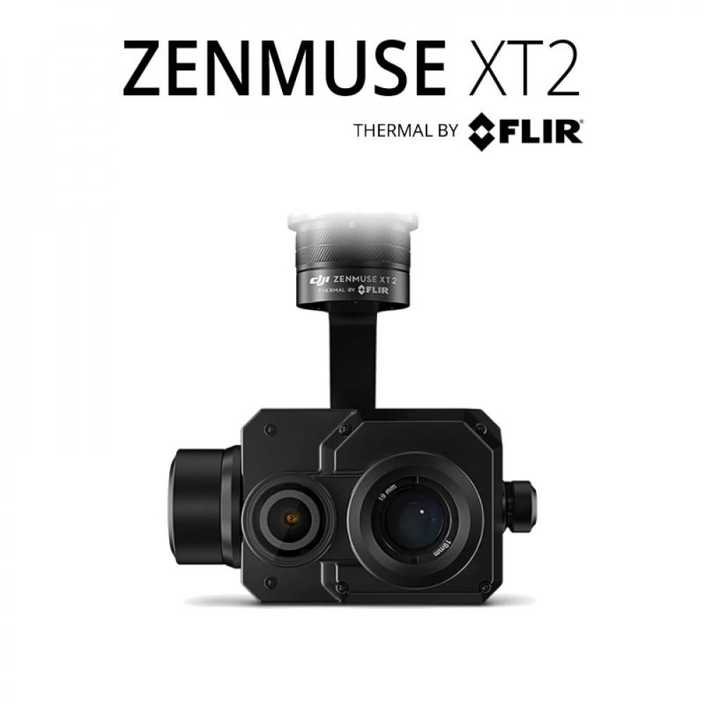 FLIR XT2 640 x 512 45°HFoV - LWIR Dual Payload Drone Gimbal